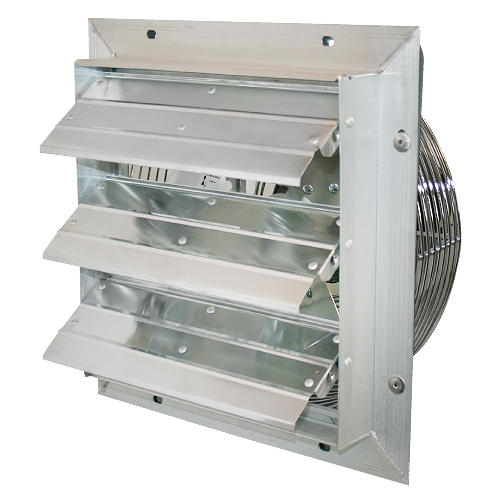 Indoor/Outdoor Shutter Fan
