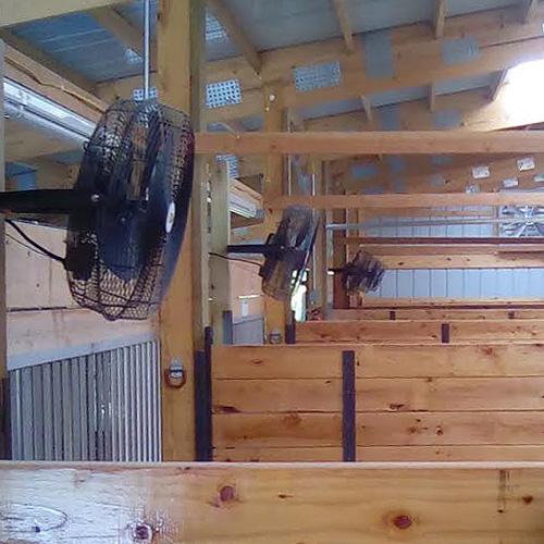 Horse Barn Fans