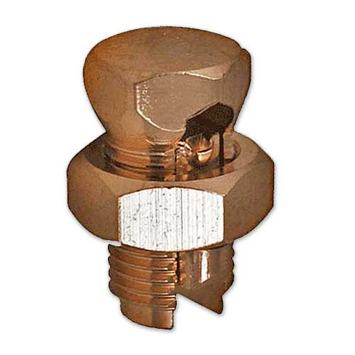 Copper Split Bolt Connectors (10-Pack)