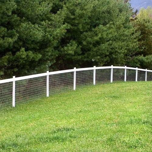RedBrand Non-Climb Wire Mesh Fence
