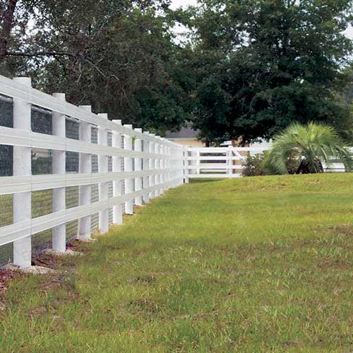 Ramm 2x4 Non Climb Wire Mesh Horse Fence Ramm Horse