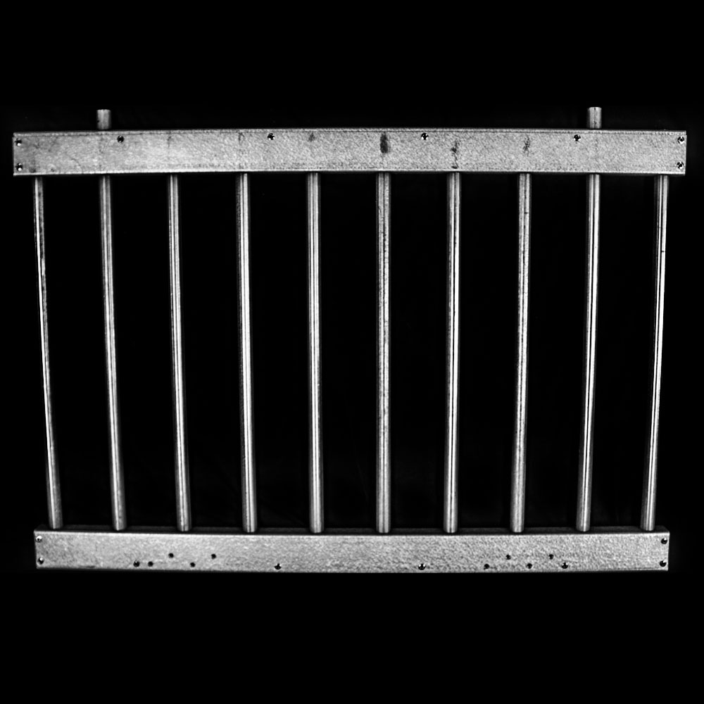 Fold-Down Hinged Window Grill Kit