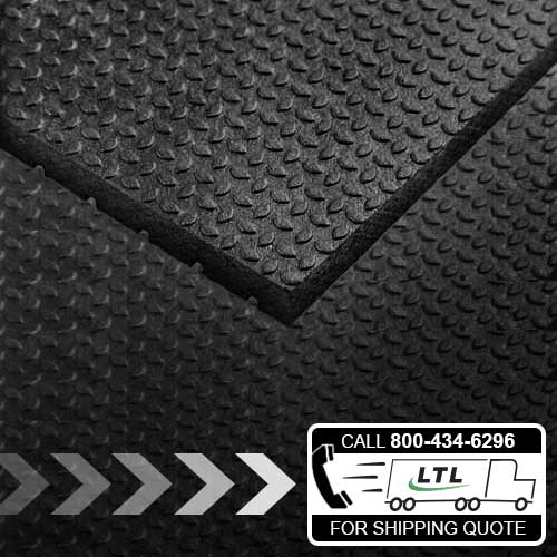 4'x6' Punter Top Rubber Mats