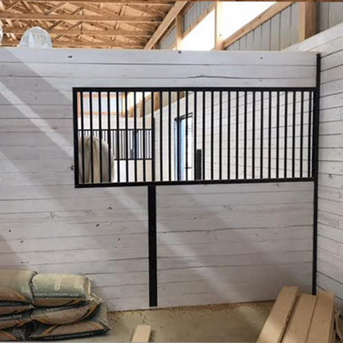 Welded Stall Privacy Partition Kit Ramm Horse Fencing