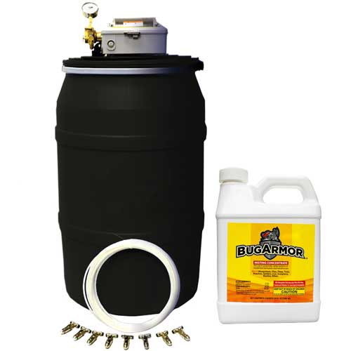 Automatic Fly & Mosquito Spray System