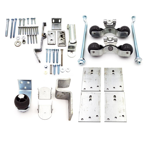 Premium Track Stall Door Hardware Kit