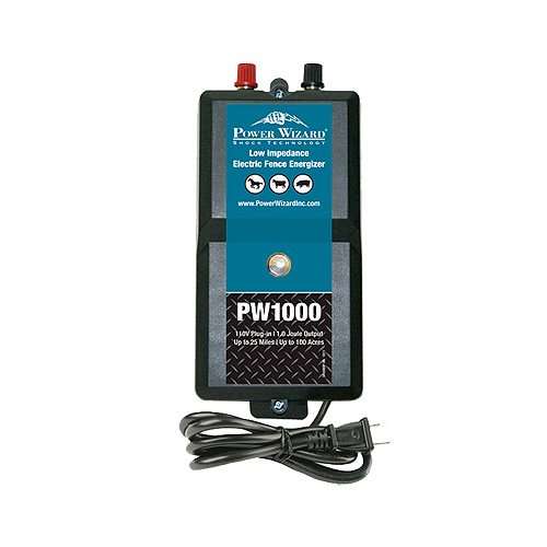 Power Wizard Electric Fence Charger - PW1000