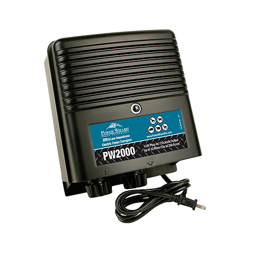 Power Wizard Electric Fence Charger - PW2000