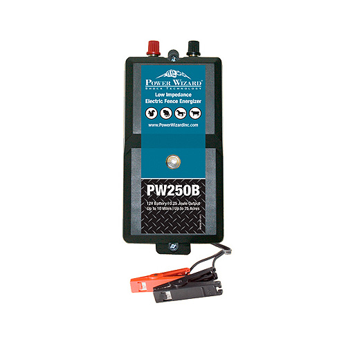 Power Wizard Electric Fence Charger - PW250B