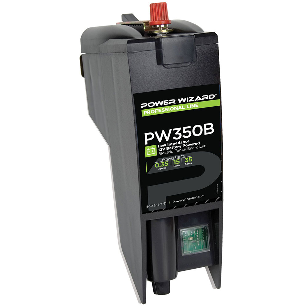 Power Wizard D Cell 12v Battery Fence Charger 0 35 Joule