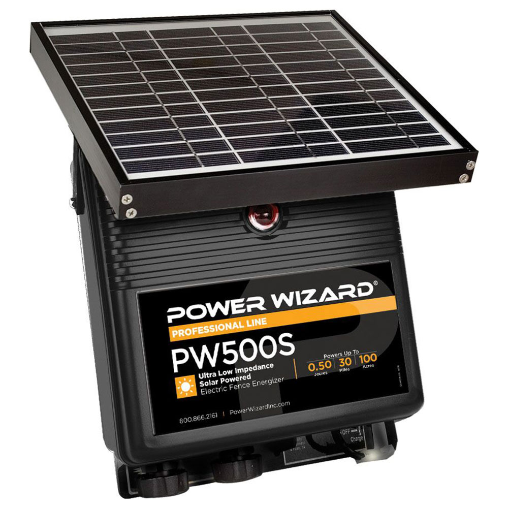 Power Wizard 12V Solar Charger - 0.5 Joule