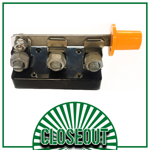Double Cutout Switch (Sold Out!)