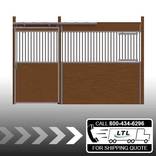 Essex Standard Stall Front with Grill Top Door & Feed Door Kit