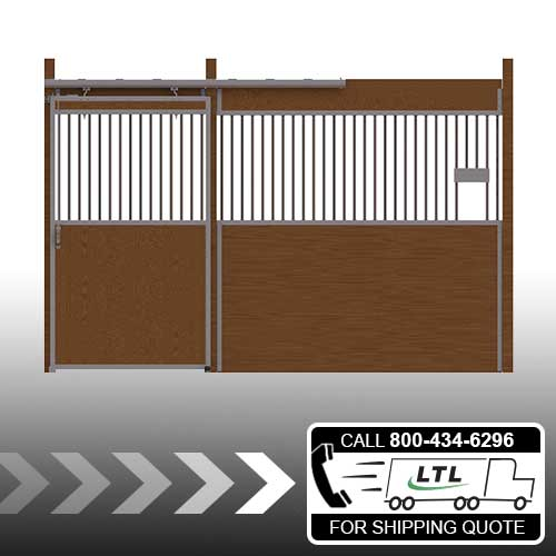 Essex Standard Stall Front with Grill Top Door & Feed Opening Kit