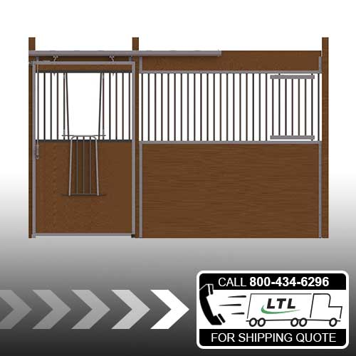 Essex Standard Stall Front with V-Door & Feed Door Kit