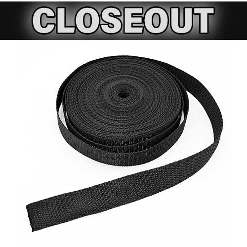 Black Webbing (50' Roll)