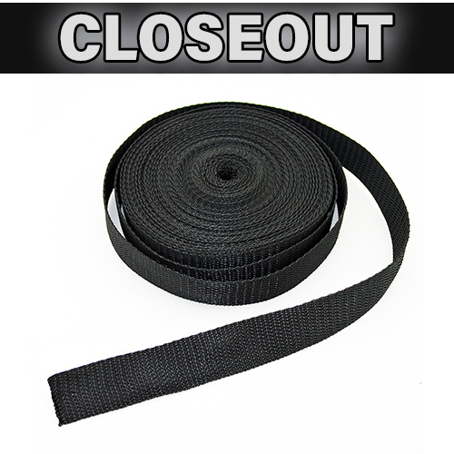 Black Webbing - 50' Roll
