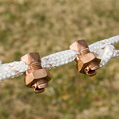 Copper Split Bolt Connectors Ramm Horse Fencing Amp Stalls