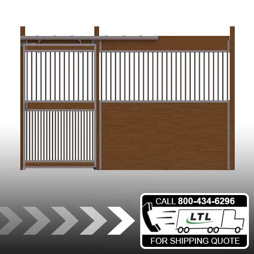 Essex Standard Stall Front with Full Grill Door Kit