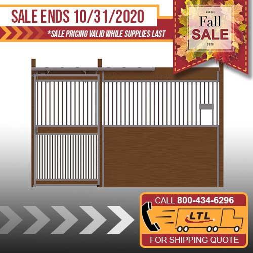 Essex Standard Stall Front with Full Grill Door & Feed Opening Kit