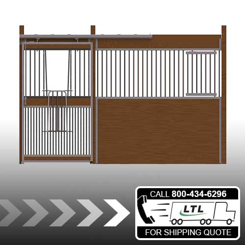 Essex Standard Stall Front with Full Grill V-Door & Feed Door Kit