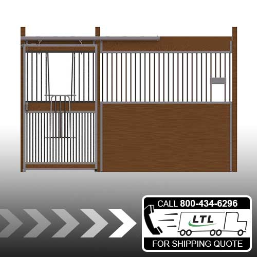Essex Standard Stall Front with Full Grill V-Door & Feed Opening Kit