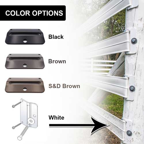 Flex Fence® End Plate Kit