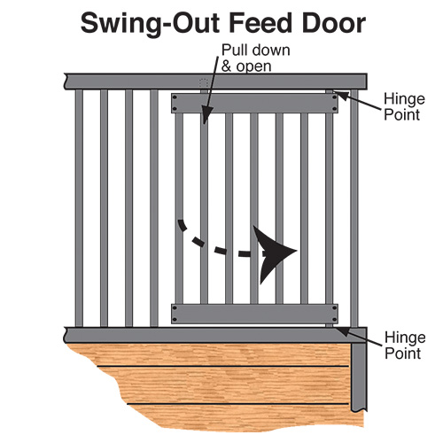 Feed Door Insert