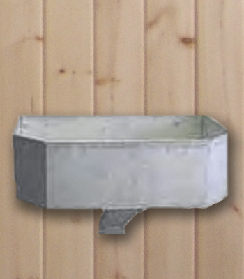 Galvanized Wall Mount Feeder