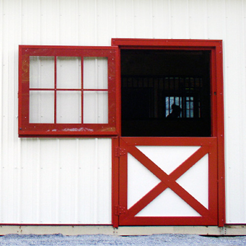 Dutch Door Glass Panel Ramm Horse Fencing Amp Stalls