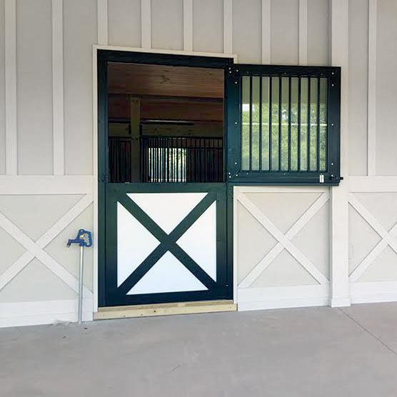 Dutch Door - Gl Panel | RAMM Horse Fencing & Stalls on