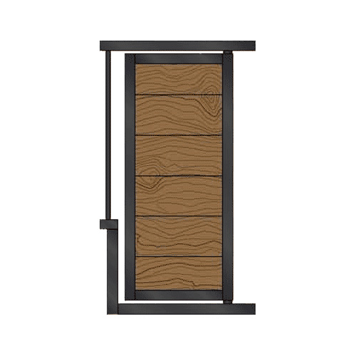 Large Solid Feed Door