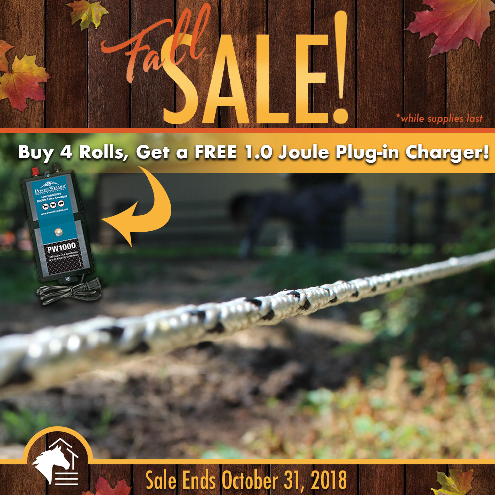 Pro-Tek Braided Electric - Buy 4, Get FREE 1.0 Joule Charger (SALE HAS ENDED)