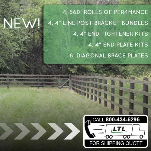 Per4mance Flex Fence® Paddock Kit
