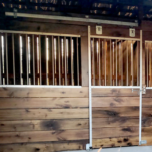10 Derby Horse Stall Front Ramm Horse Fencing Amp Stalls