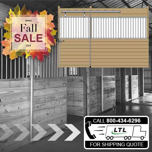 12' Derby Stall Front