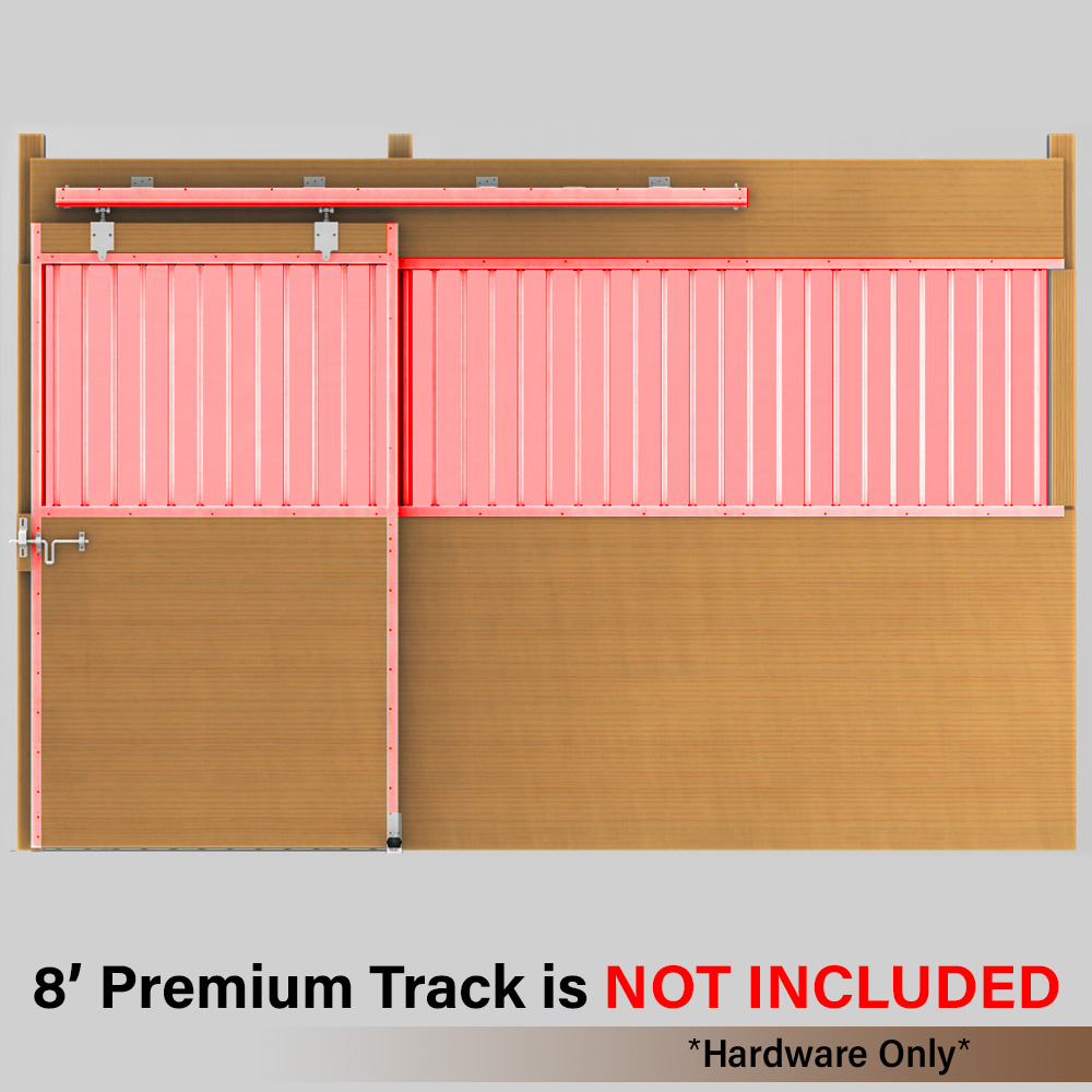 Derby Door Premium Track Hardware Kit