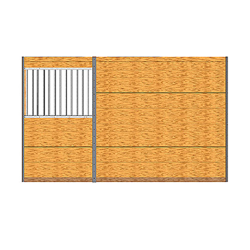 Derby Pro-Line Stall Grilled Privacy Partition Kit