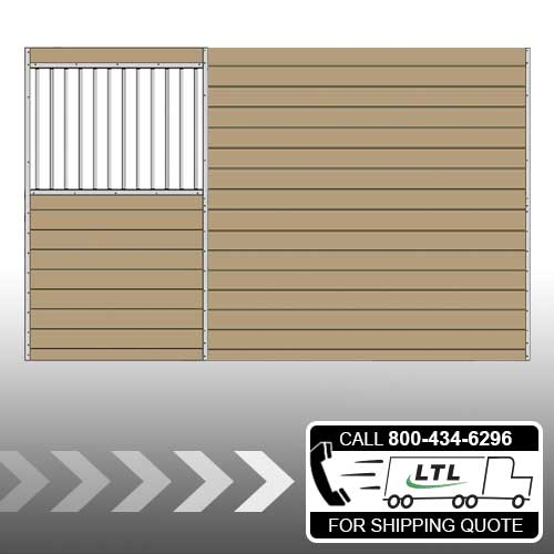 Derby Stall Grilled Privacy Partition Kit