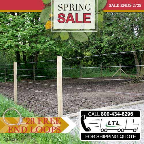Raceline Flex Fence® Coated Wire Pallet Bundle (SALE HAS ENDED)