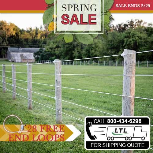 Shockline Flex Fence® Electric Coated Wire Pallet Bundle