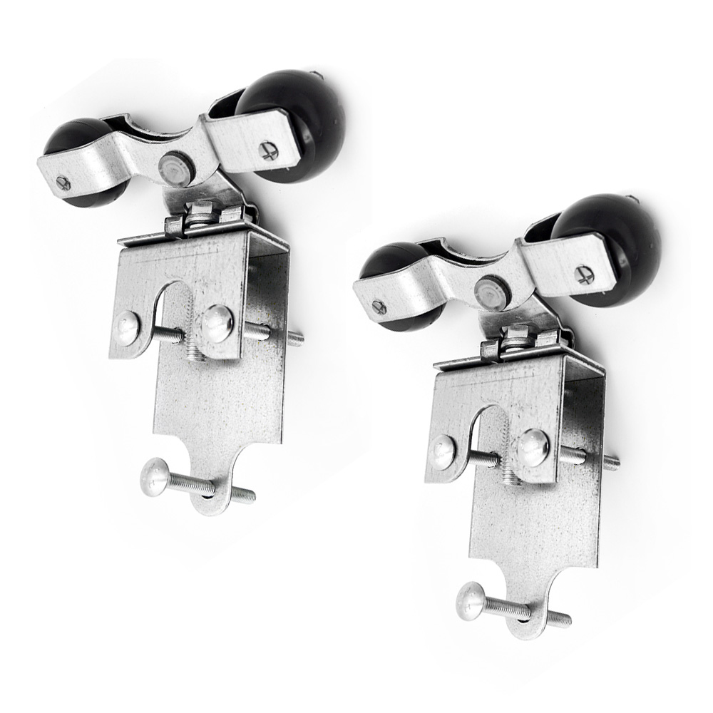 90° Premium Track Trolley Brackets (2-Pack)