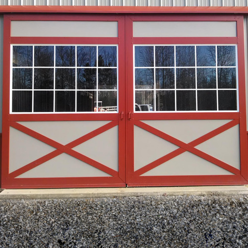 Barn Doors - Glass Panel
