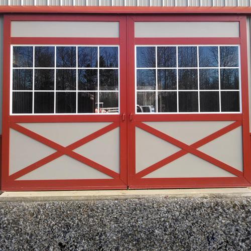 Barn Doors - Glass Panel