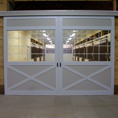 Barn Doors - Glass Panel – Scratch & Dent