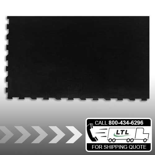 Right Corner - 4' x 6' Interlocking Rubber Mat