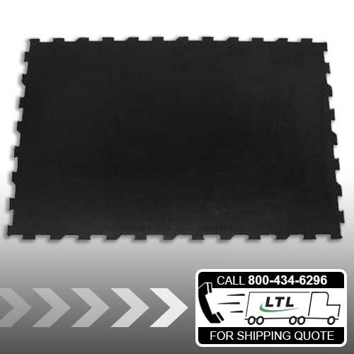 4' x 6' Interlocking Rubber Mat