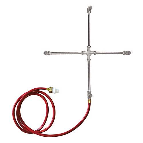 Stainless Steel 4-Way Misting Cross