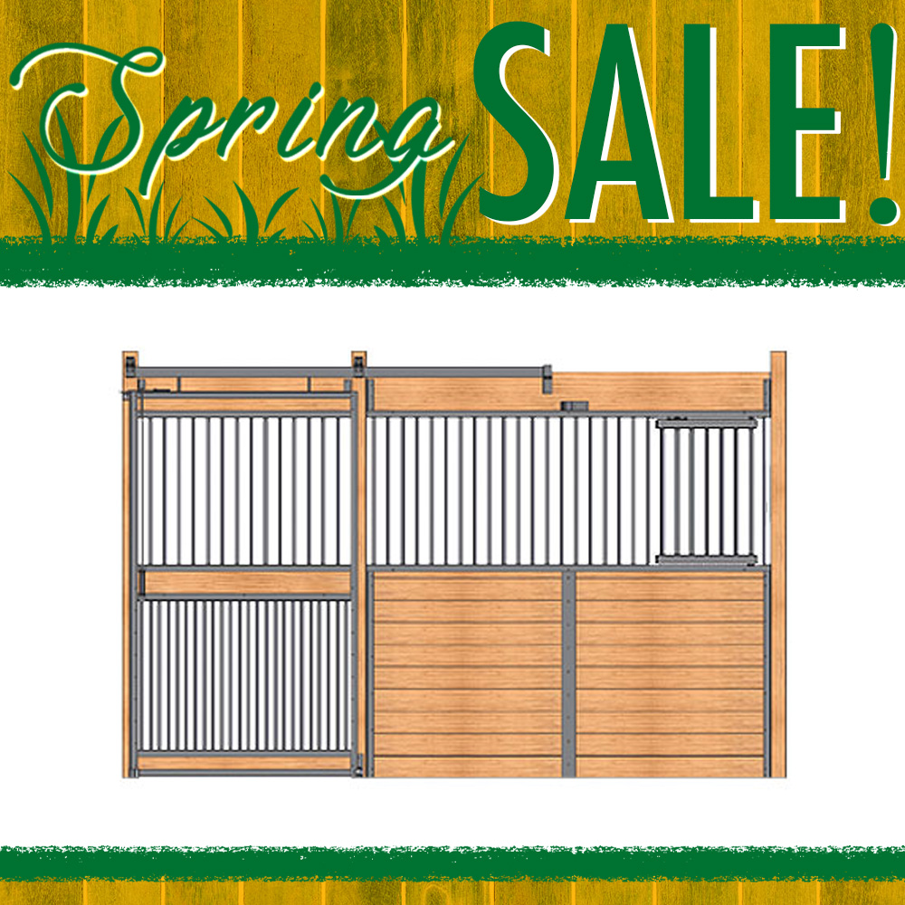 Essex Standard Stall Front with Full Grill & Feed Door