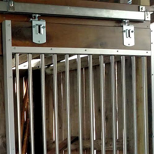 90 176 Square Track Trolleys Ramm Horse Fencing Amp Stalls